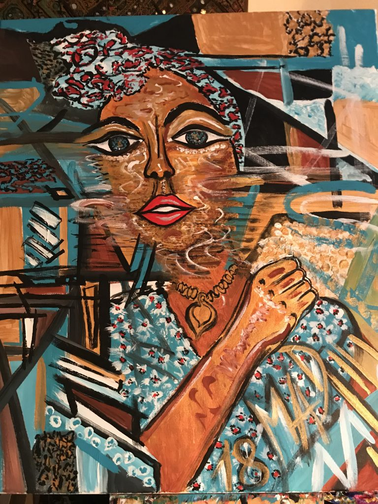 African Girl (sold)