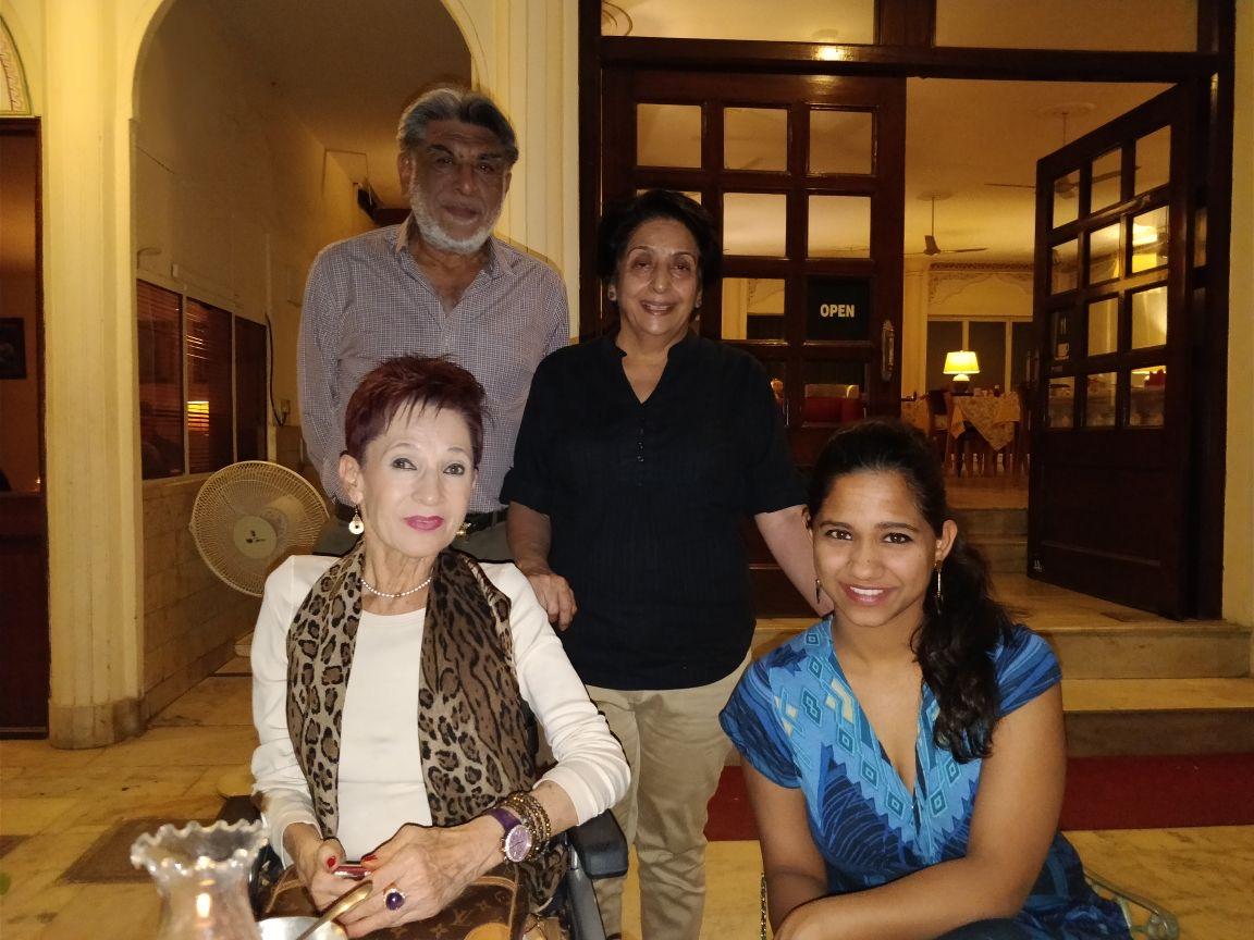 Meine Gastfamilie in Indien